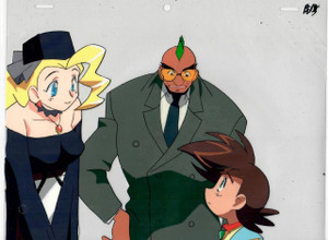 King of Braves GaoGaiGar- Production Cel 02