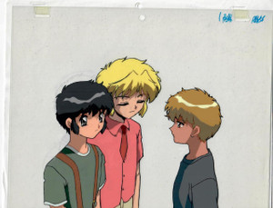 CLAMP Campus Detectives - Production Cel 06