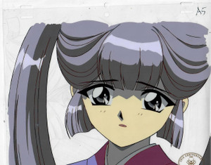 CLAMP Campus Detectives - Production Cel 10