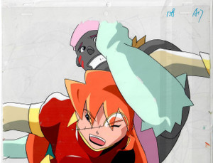Space Pirate Mito - Production Cel 07