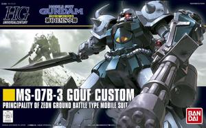 Mobile Suit Gundam 08th MS Team - MS-07B-3 Gouf Custom