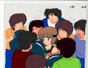 Kimagure Orange Road - Production Cel 12