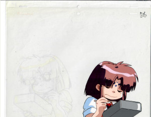 Galaxy Fraulein Yuna - Production Cel 03