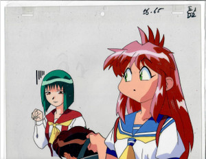 Cat Girl Nuku Nuku - Production Cel 25