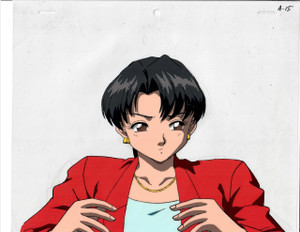 Key the Metal Idol - Production Cel 19
