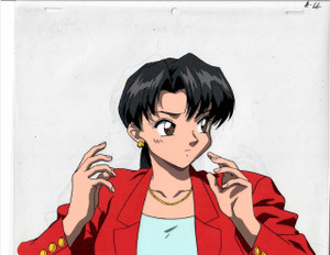 Key the Metal Idol - Production Cel 22