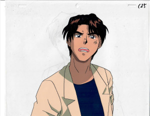 Key the Metal Idol - Production Cel 23