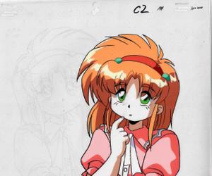 Galaxy Fraulein Yuna - Production Cel 07