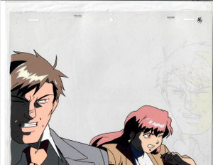 Phantom Quest Corp - Production Cel 01