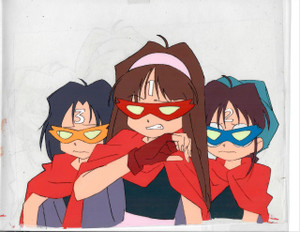You're Under Arrest - Production Cel 24