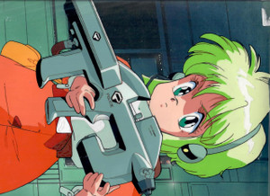 Gall Force - Production Cel 18