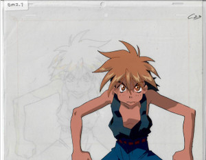 Saber Marrionette J - Production Cel 09