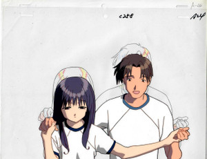 To Heart - Production Cel 17