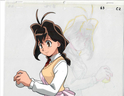 Jubei Chan - Production Cel 11