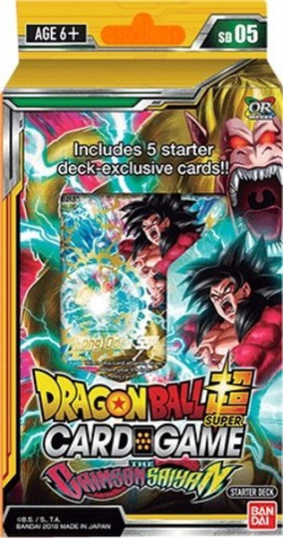 Dragon Ball Super TCG - Crimson Sayian