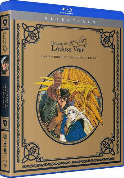 Record Of The Lodoss War OVA Blu-Ray/DVD + Chronicles Of A Heroic Knight Essentials