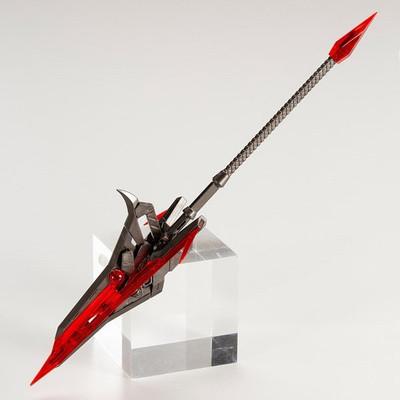 M.S.G. Heavy Weapon - Gun Blade Lance Crystal Red Ver. (Unit 12EX)