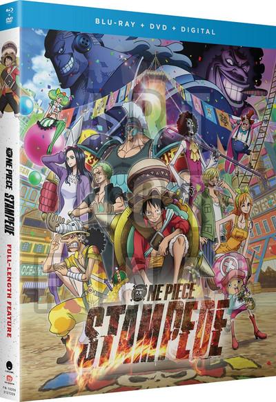One Piece Film Stampede Blu-ray/DVD