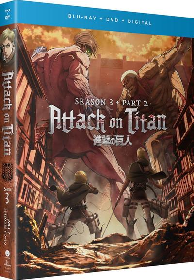 Attack on Titan Season 3 Part 2 Blu-ray/DVD