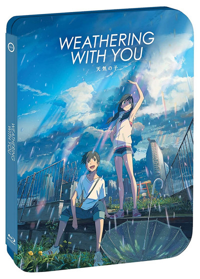 Weathering With You Steelbook Blu-Ray/DVD