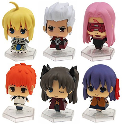 Fate/stay night Unlimited Blade Works Trading Figure Set