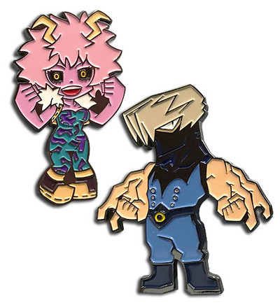 My Hero Academia - Pinky and Tentacole Pin Set