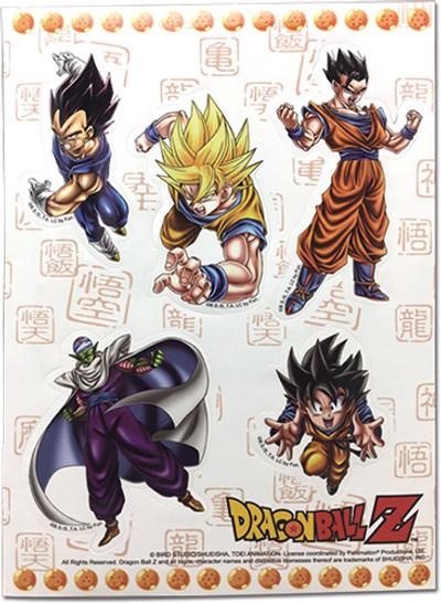 Dragon Ball Z- Group Sticker Set