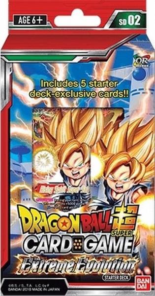 Dragon Ball Super TCG - Extreme Evolution Starter Deck