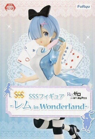 "Re:Zero Rem in Wonderland 8.25"" Figure"