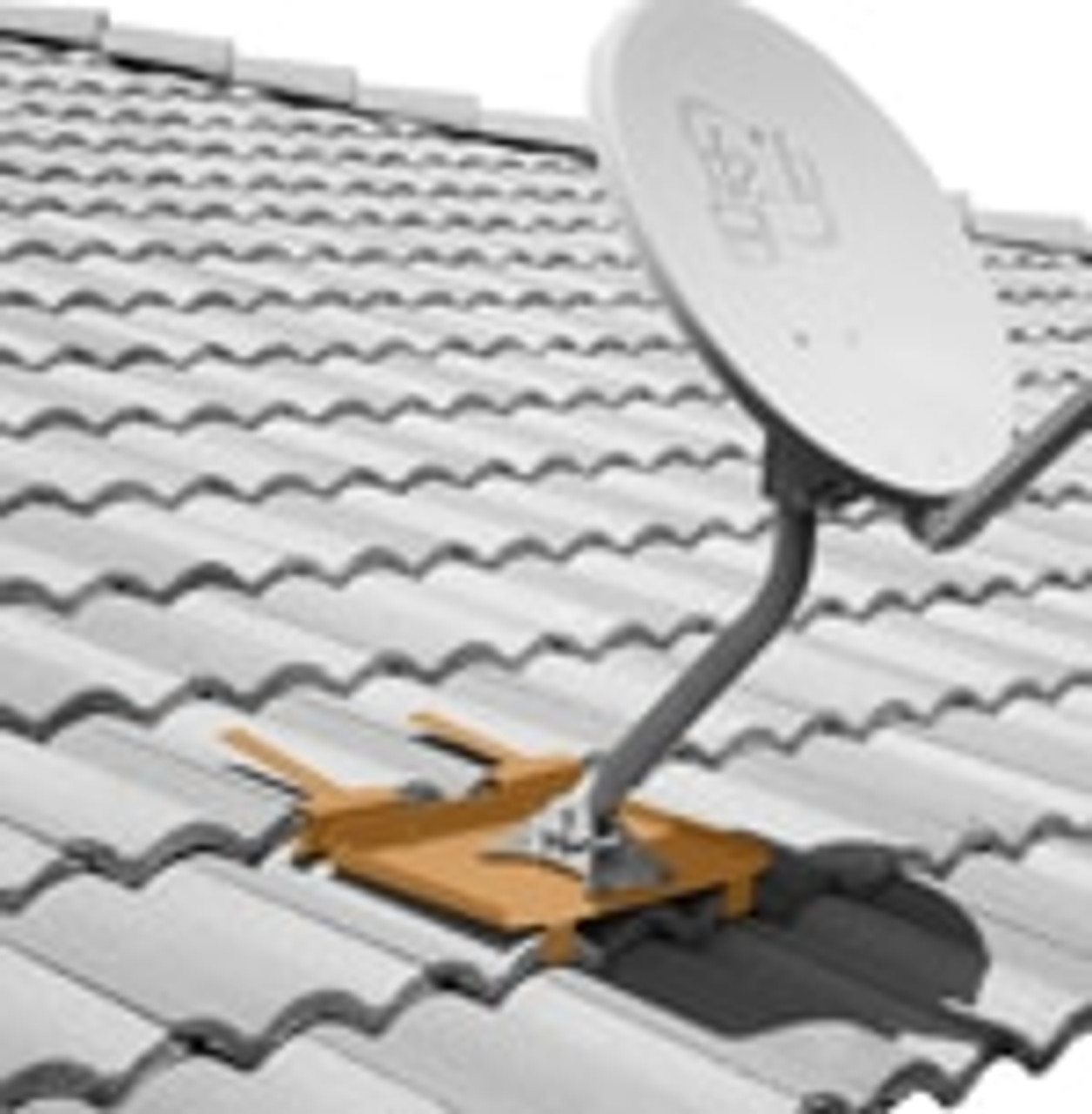 Antenna Mount For Tile Roof Suitable For Dish Large Antennas