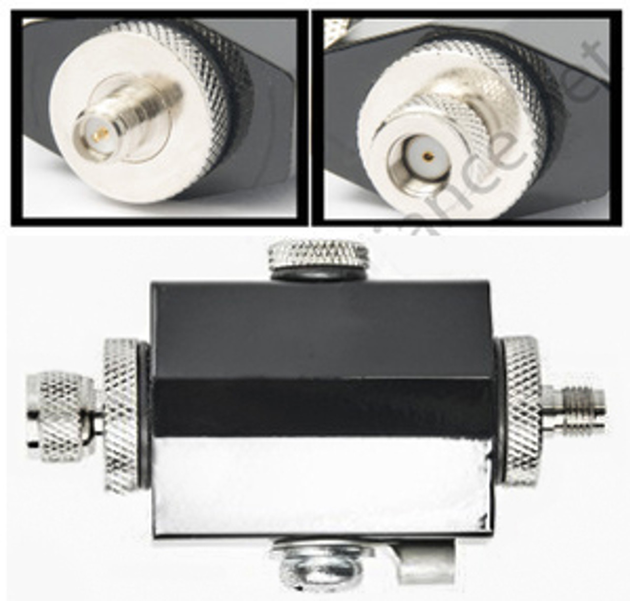 Lightning Surge Arrestor w/ RP-SMA & SMA options, 900MHz, 2.4GHz, 5GHz options
