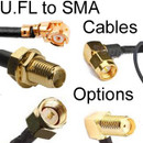 U.FL to SMA Cables Options