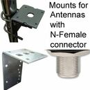N-Female Connector Antenna Mounts
