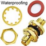 Bulkhead Nut washer o-ring RP-SMA