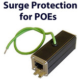 Surge Protector for POE injector