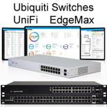 Ubiquiti UniFi Switch & EdgeSwitch POE Gigabit Switches