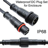 Weatherproof DC plug for Enclosure
