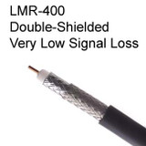 LMR-400 Coax Specifications / Characteristics: Lowest Signal Loss in Its Class