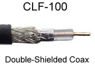 CLF-100 Coax Specifications / Characteristics.  Comparison to LMR-100