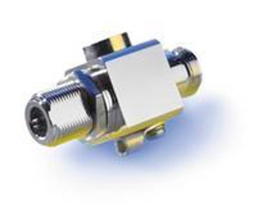Lightning Surge Arrestor: 0 to 6GHz N-female to N-female connectors