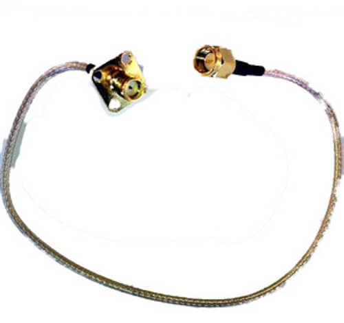 Antenna Cable:  SMA-male To SMA-female Panel-Mount Jack: 12inch coax cable
