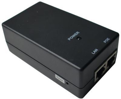 48v PoE Injector: Gigabit Power Over Ethernet Adapter.  Suitable for IP phones.