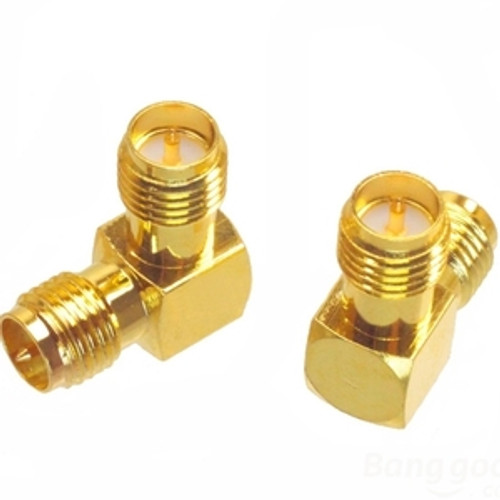 Adapter RP-SMA Female To RP-SMA Female Right Angle