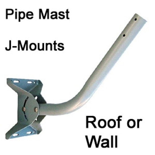 J-mounts for antennas