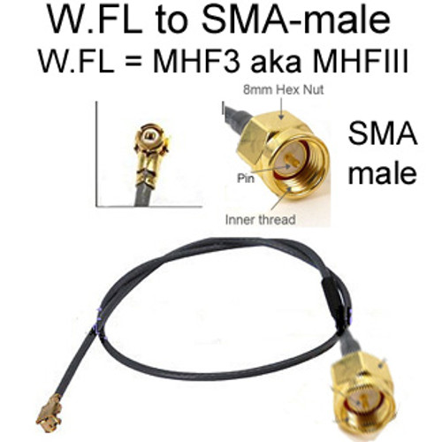 W.FL (by HiRose) is equivalent to MHF3 (MHFIII) (by I-PEX):  The two mate perfectly.