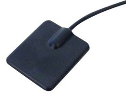 Flat, low-profile 2.4GHz antenna, with 1.5 meter cable to RP-SMA male connector.  For Bluetooth, WiFi, IOT applications.