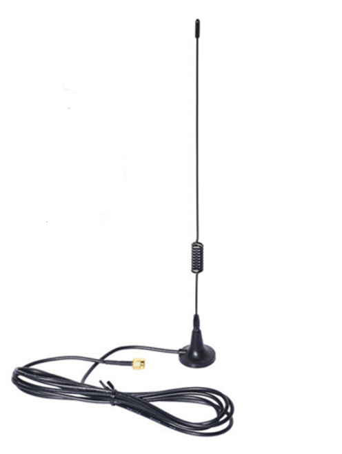 Antenna 850 - 920 MHz 4dbi Magnetic-Mount omni-directional with 2-meter cable to RP-SMA-male or SMA male.