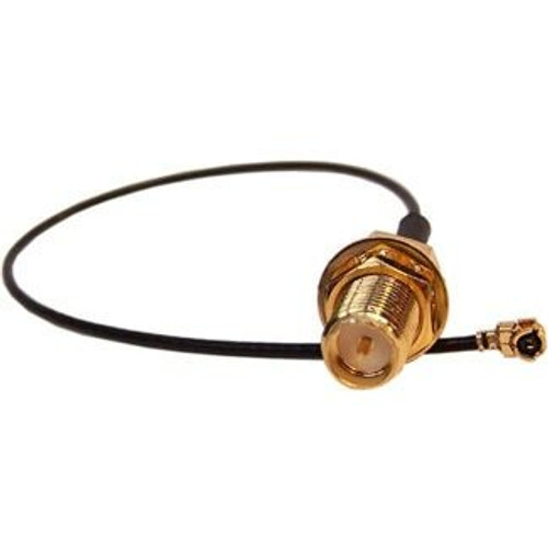 Cable: U.FL to RP-SMA-female 6-inch cable - Reverse Polarity SMA