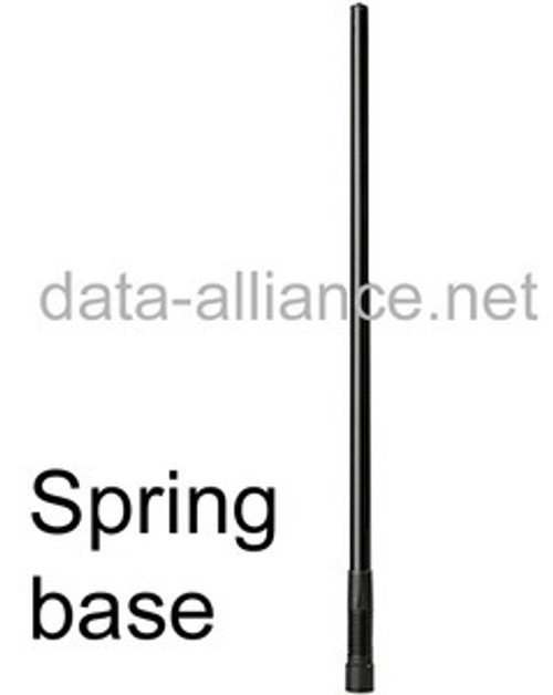Antenna w/ Spring-Base 2.4GHz 7.4dBi Omni WiFi. N-male connector