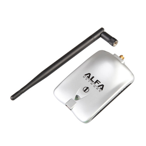 Alfa AWUS036H 802.11G 2000mW Long-Range WiFi USB Adapter with Antenna